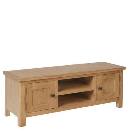 Richmond Oak Large TV Unit
